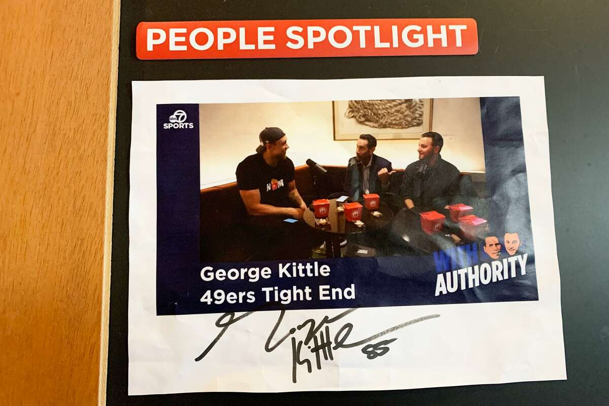I spent an entire Monday at a Santa Clara Panda Express in search of 49ers TE George Kittle.