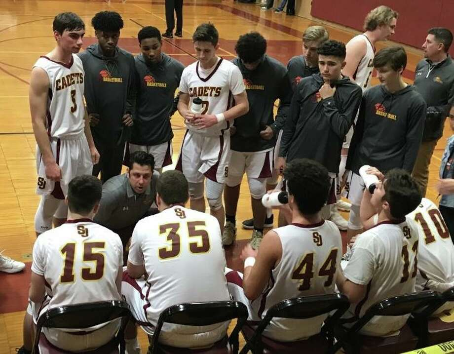 St. Joseph coach Kevin Wielk has guided the Cadets to a 4-2 start to the season. Photo: Bill Bloxsom / Hearst Connecticut Media / Trumbull Times