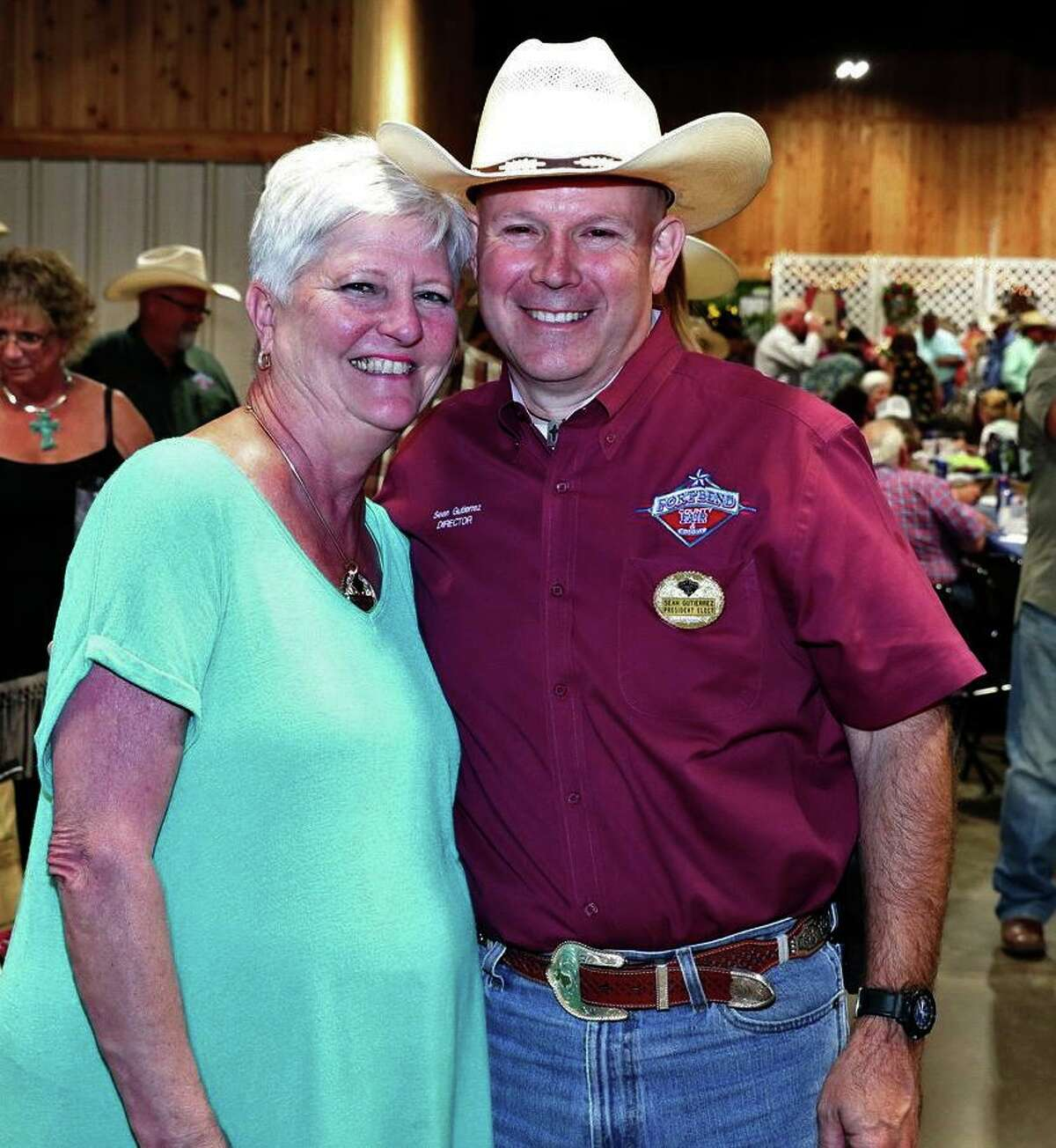 Sean Gutierrez, a 27-year volunteer with the Fort Bend County Fair and Rodeo, was recently elected 2020 Fair President.