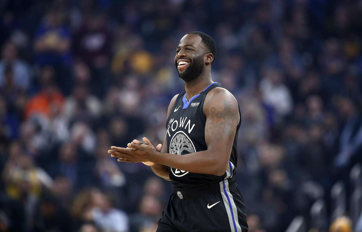 Draymond Green #23 of the Golden State Warriors walks on to the court for their game against the Dallas Mavericks at Chase Center on January 14, 2020 in San Francisco, California.(Photo by Ezra Shaw/Getty Images)