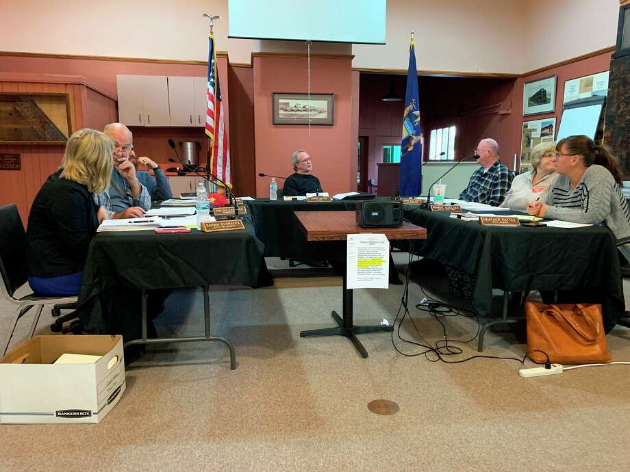 The Evart City Council voted to dissolve the LDFA at a special meeting Jan. 8. Mayor John Joyce said the entity has accomplished its purpose and, by law, had to be dissolved. ( Herald Review photo/Cathie Crew)