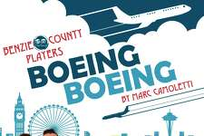 """The Benzie County Players will be presenting """"Boeing, Boeing,"""" the story of a man who's three airline hostess fiances show up at his house at the same time. (Courtesy photo)"""