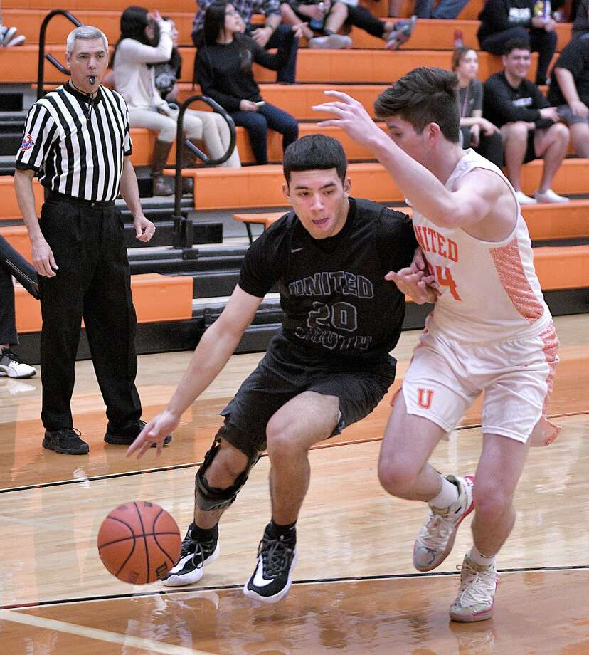 Armando Ceballos and United South face LBJ at 7 p.m. Friday at United High School in a play-in game after tying for fourth place. Photo: Cuate Santos /Laredo Morning Times File / Laredo Morning Times