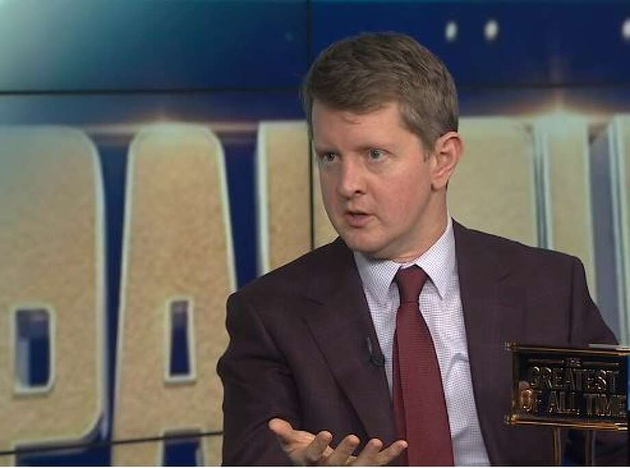 Ken Jennings speaks about his Tuesday night win during a KOMO News interview. Photo: Courtesy KOMO