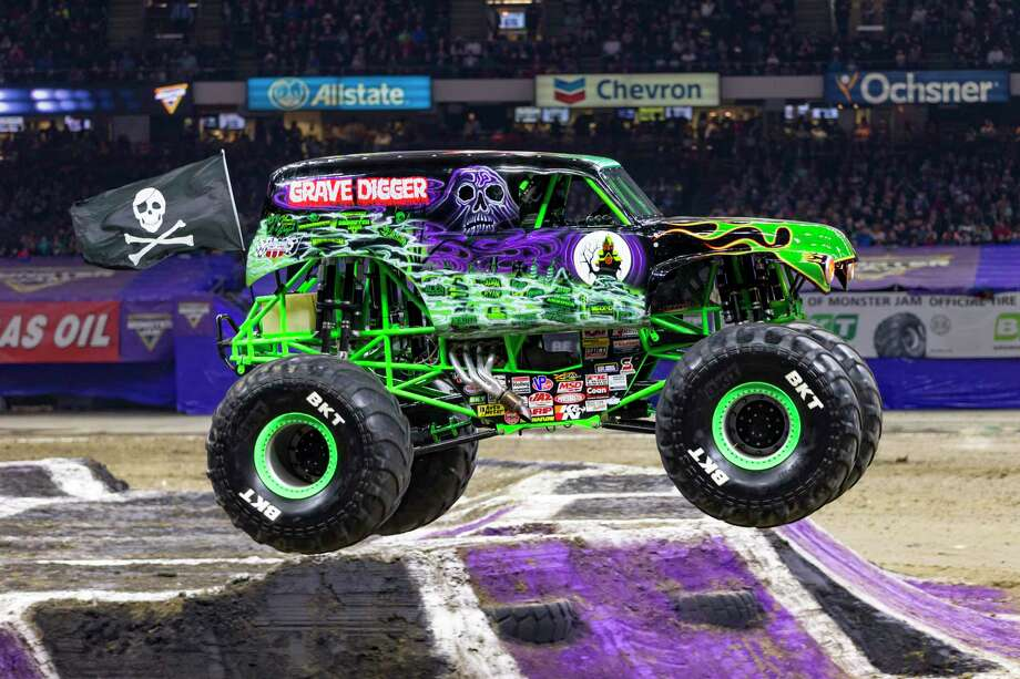 Adam Anderson will be driving Grave Digger, the truck his father created, at the San Antono Monster Jam this weekend Photo: Feld Entertainment / © ERIC STERN 847-404-8853, All Rights Reserved