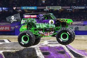 Adam Anderson will be driving Grave Digger, the truck his father created, at the San Antono Monster Jam this weekend