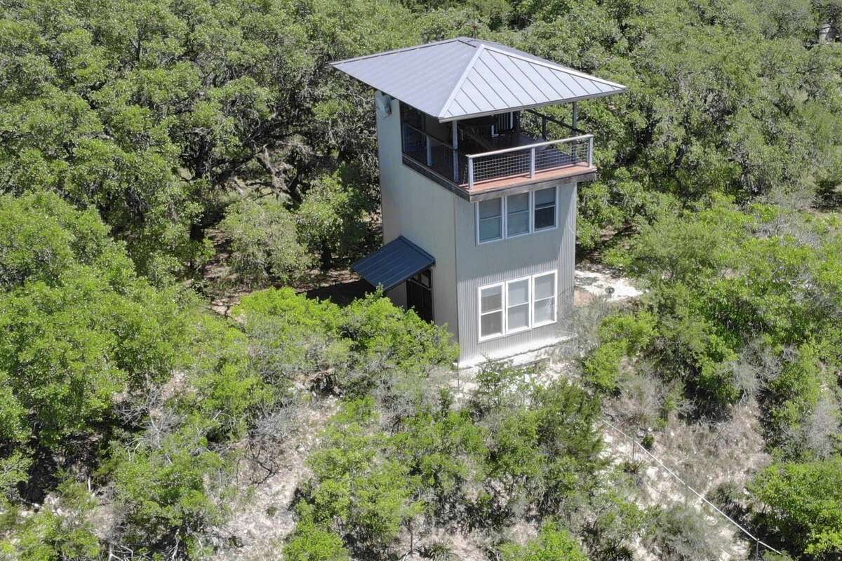Hill Country Tower: Boerne The tower promises a peaceful weekend with views of the Hill Country and the stars at night. The three-story house overlooks 100 acres of undeveloped property. 1 bed, 1 bath $129 a night Airbnb.com