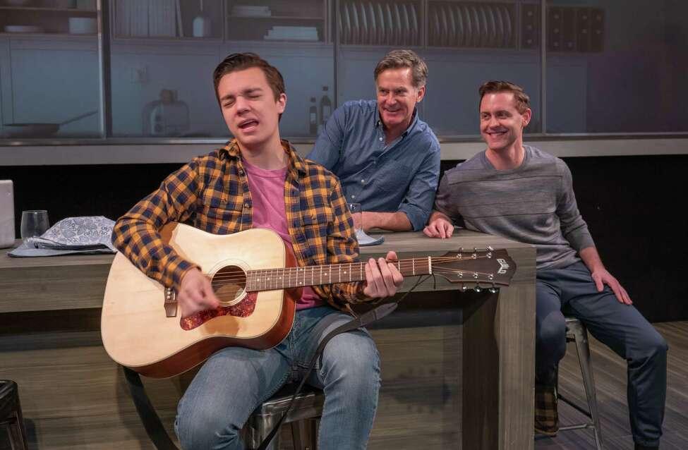 L-R- Jake Goodman, James Lloyd Reynolds, Michael McCorry Rose in