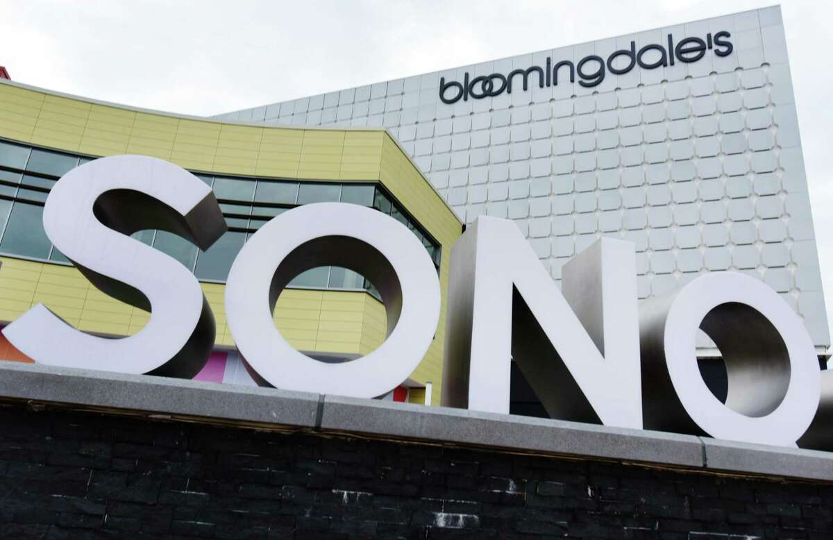 Bloomingdales Department, one of the anchor stores at the SoNo Collection mall, Tuesday, January 14, 2020, in Norwalk, Conn.