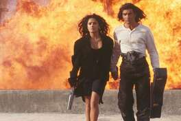 "#2. Desperado (1995) - Sequel domestic box office gross: $41.8 million - Original: El Mariachi (1992) - Original domestic box office gross: $3.6 million - Sequel vs. original box office increase: 1,046% Before 1995's ""Desperado"" turned Antonio Banderas and Salma Hayek into household names, there came its low-budget predecessor from director Robert Rodriguez. Reportedly shot for a mere $7,000, the film ""El Mariachi"" follows a musician (Carlos Gallardo) as he evades capture from a ruthless gang. By the time the sequel rolls around, the musician (now played by Banderas) is primarily on the offensive. This slideshow was first published on theStacker.com"