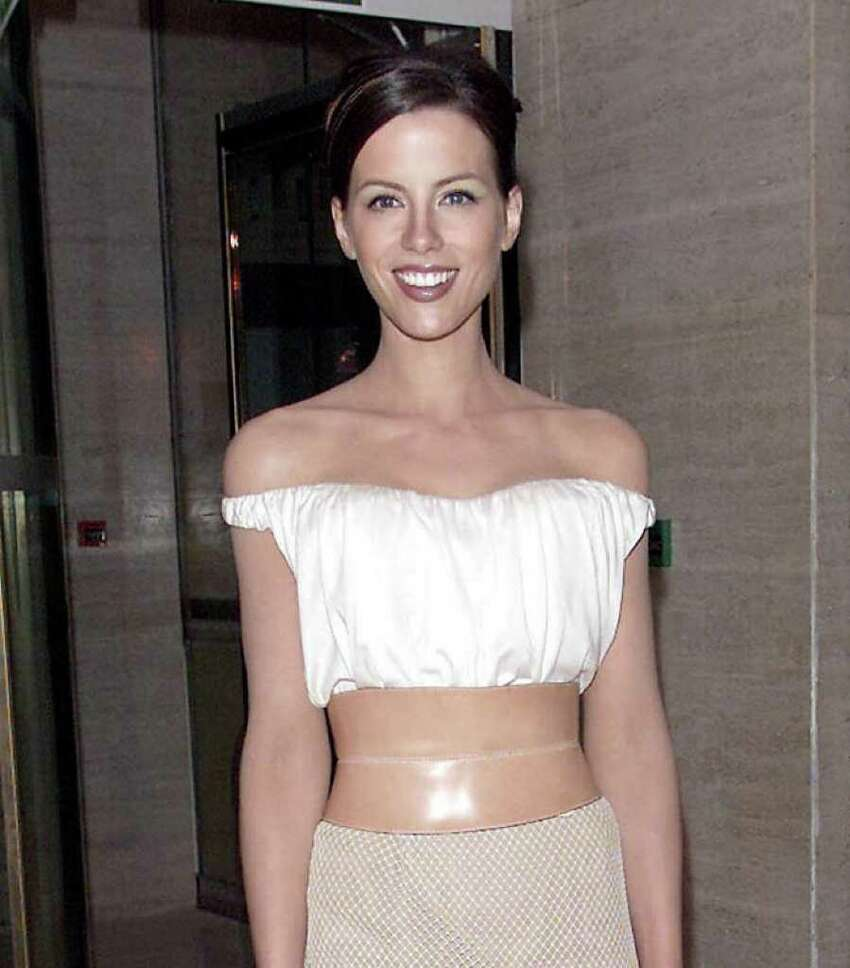 Here's visual evidence that the glamour machine is set on overdrive in Celebrityville. Take a look at how these actresses have changed over the years, starting with Kate Beckinsale, May 30, 2001, age 27.