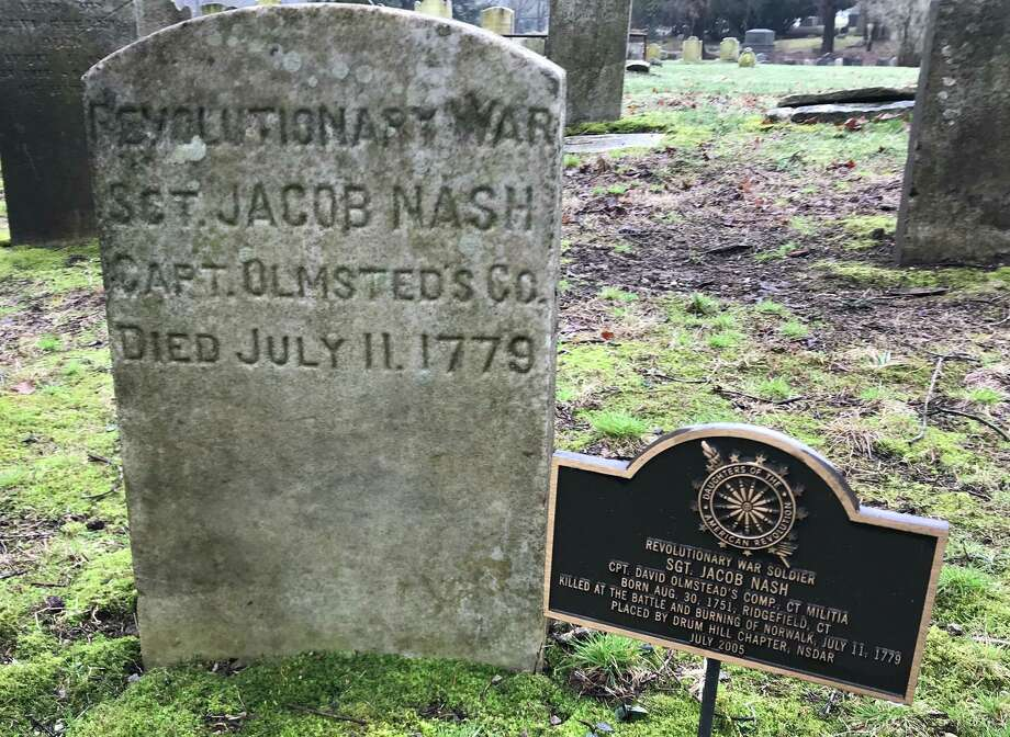 Markers for Nash at Titicus Cemetery. Photo: Jack Sanders / Contributed Photo