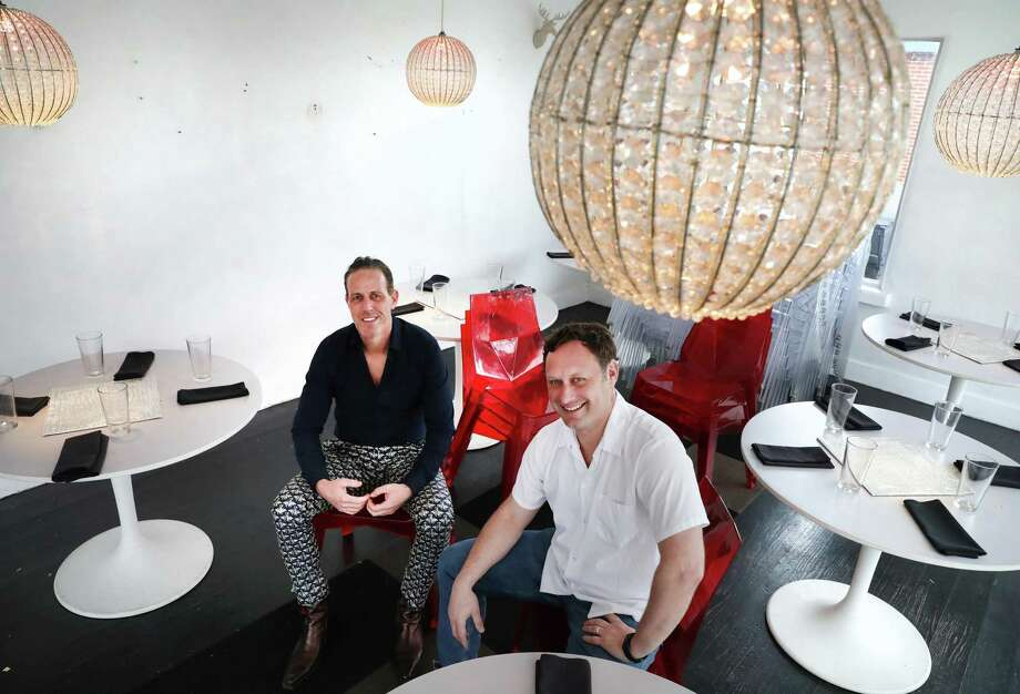 For restaurateur Andrew Goodman, left, and chef Stefan Bowers, 2019 brought the closing of their stylish Southtown restaurant Feast, an event that set off speculation about the health of San Antonio's restaurant scene. Photo: Bob Owen /Staff Photographer / San Antonio Express-News