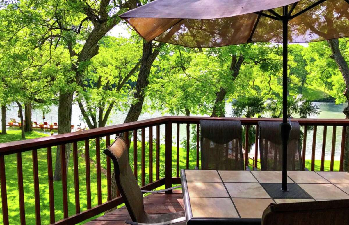 McQueeney Lake Retreat Average price per night: $844 / Sleeps: 32 Average price per night, per person: $26