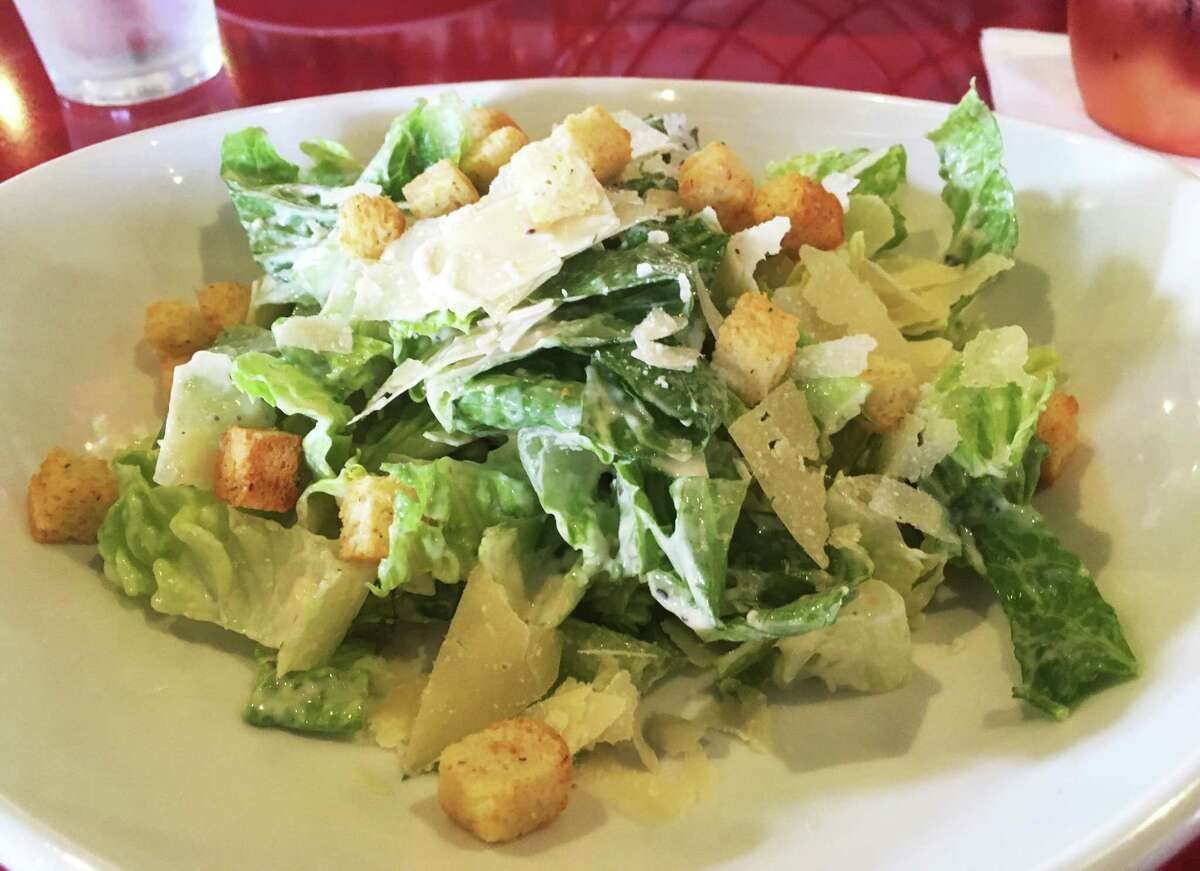 The lunch Caesar salad at Europa Restaurant & Bar