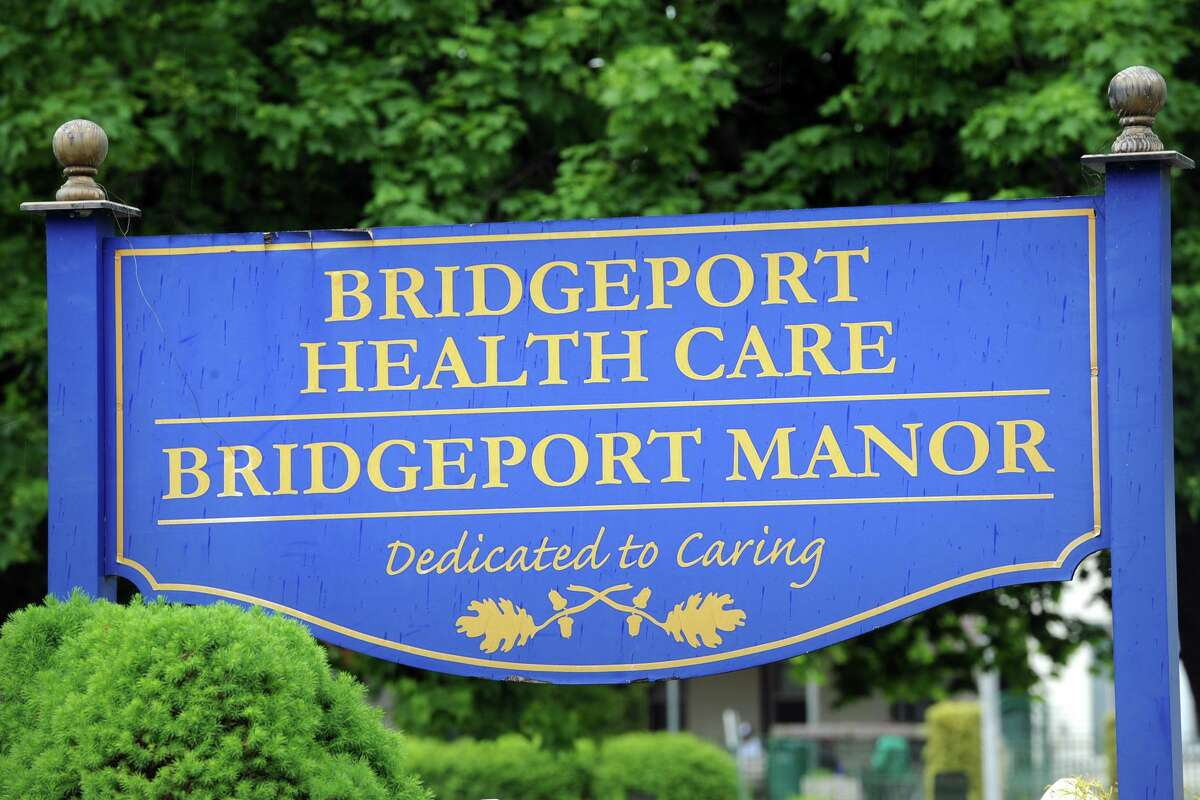 Bridgeport Health Care Center on Bond Street - which filed for bankruptcy last month - was raided Tuesday, according to the union representing most of the facility's workers, seen here May 22, 2018.