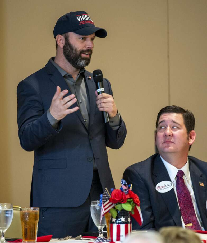 Wesley Virdell a Republican candidates for Congress District 11 talks during a forum held by the Ector County Republican Women on Wednesday, Jan. 15, 2019 at the Odessa Country Club. Jacy Lewis/Reporter-Telegram Photo: Jacy Lewis/Reporter-Telegram