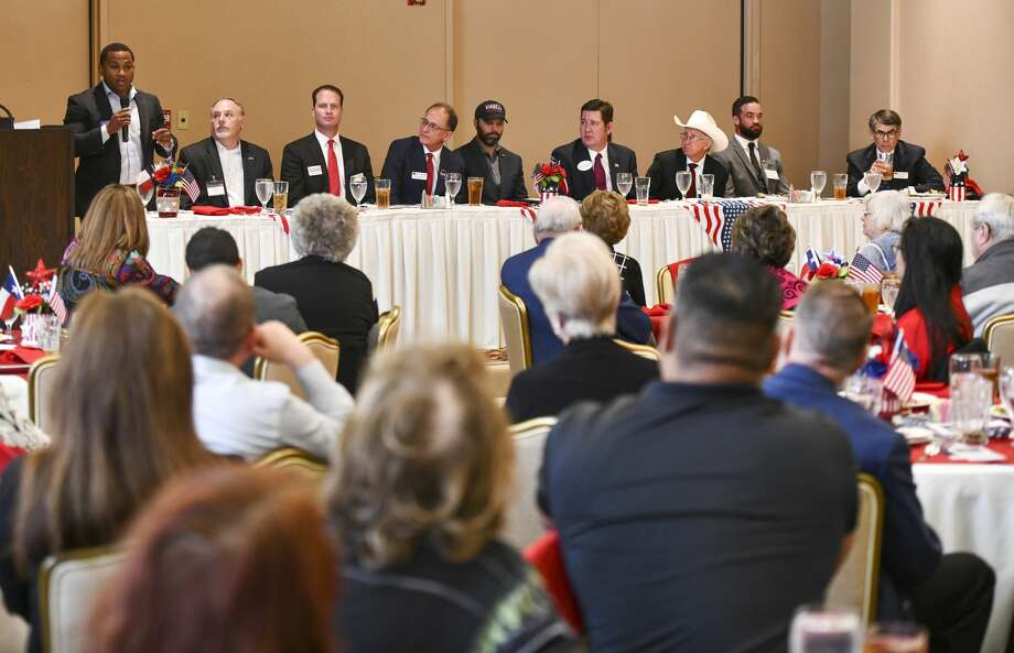 Republican candidates for Congress District 11 attend a forum held by the Ector County Republican Women on Wednesday, Jan. 15, 2019 at the Odessa Country Club. Jacy Lewis/Reporter-Telegram Photo: Jacy Lewis/Reporter-Telegram