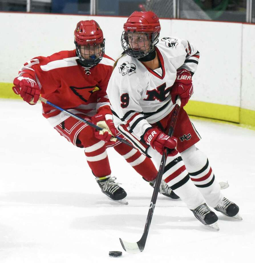 New Canaan has received a big boost with the return of junior defender McKenna Harden, who missed the first six games with an injury. Photo: Dave Stewart / Hearst Connecticut Media / Hearst Connecticut Media