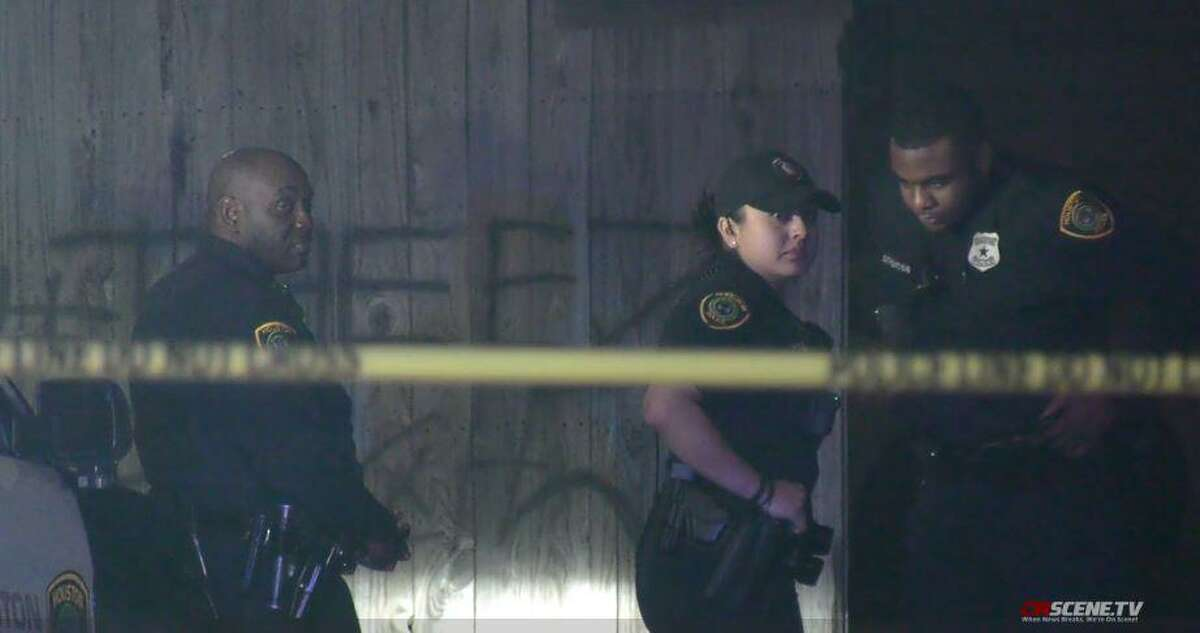 Houston Police investigate a deadly shooting that could have been related to a dice game on Wednesday, Jan. 15, 2020.
