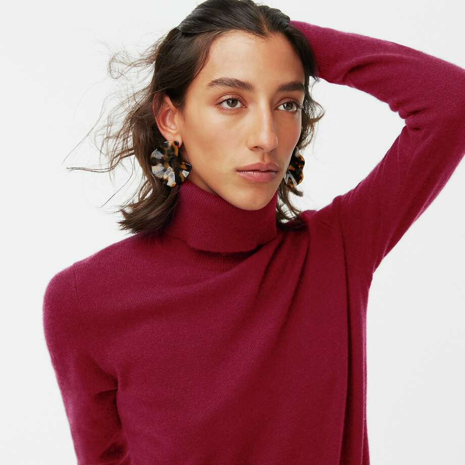 J.Crew has cashmere sweaters, scarves and gloves up to 50 percent off right now. Photo: J.Crew