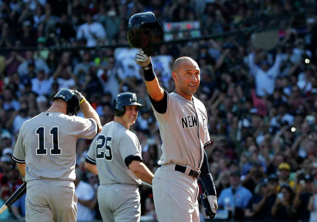 Derek Jeter is the only one of 18 new names on this year's ballot that got David Borges Hall of Fame vote.