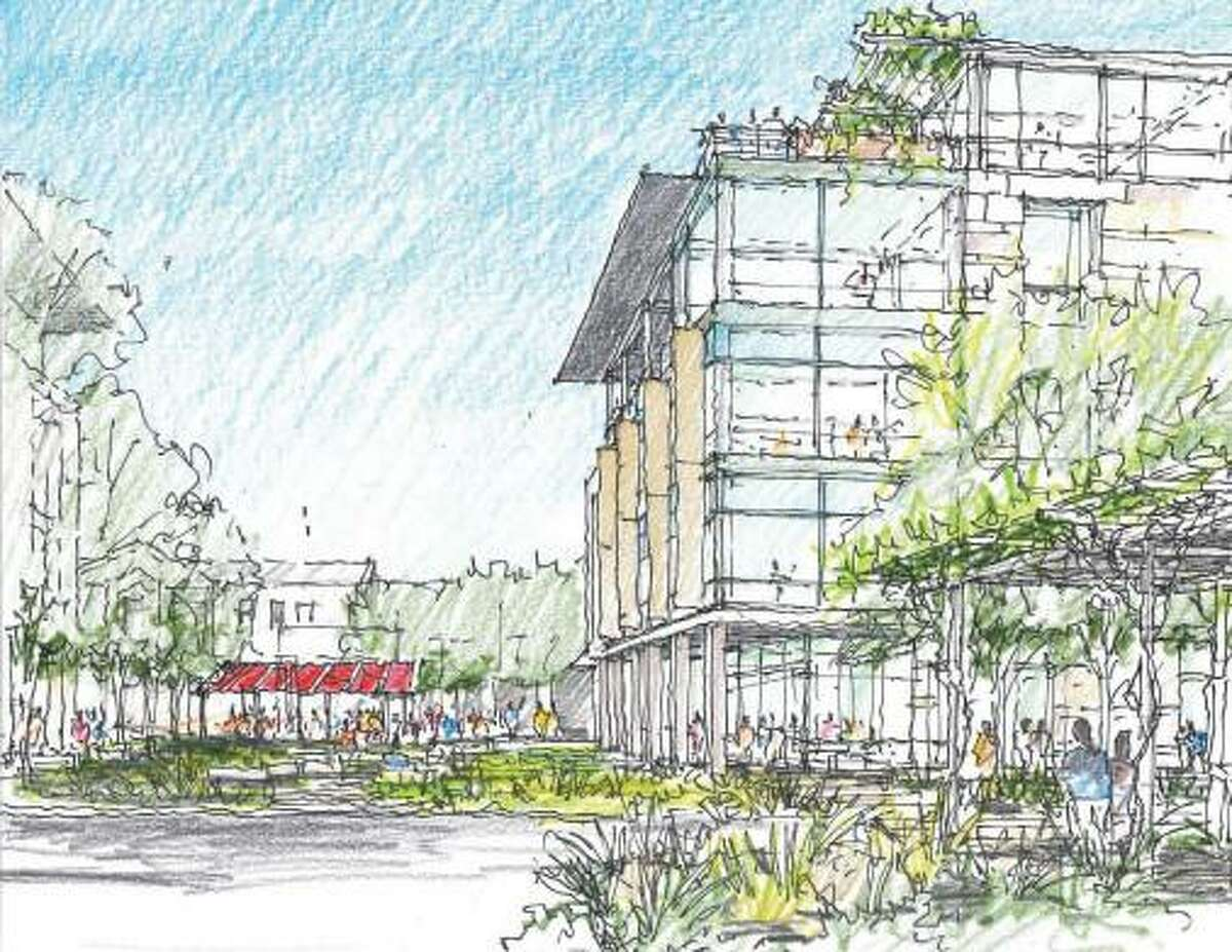 H-E-B wants to build a 170,000-square-foot building with room for up to 1,000 employees at its San Antonio headquarters.