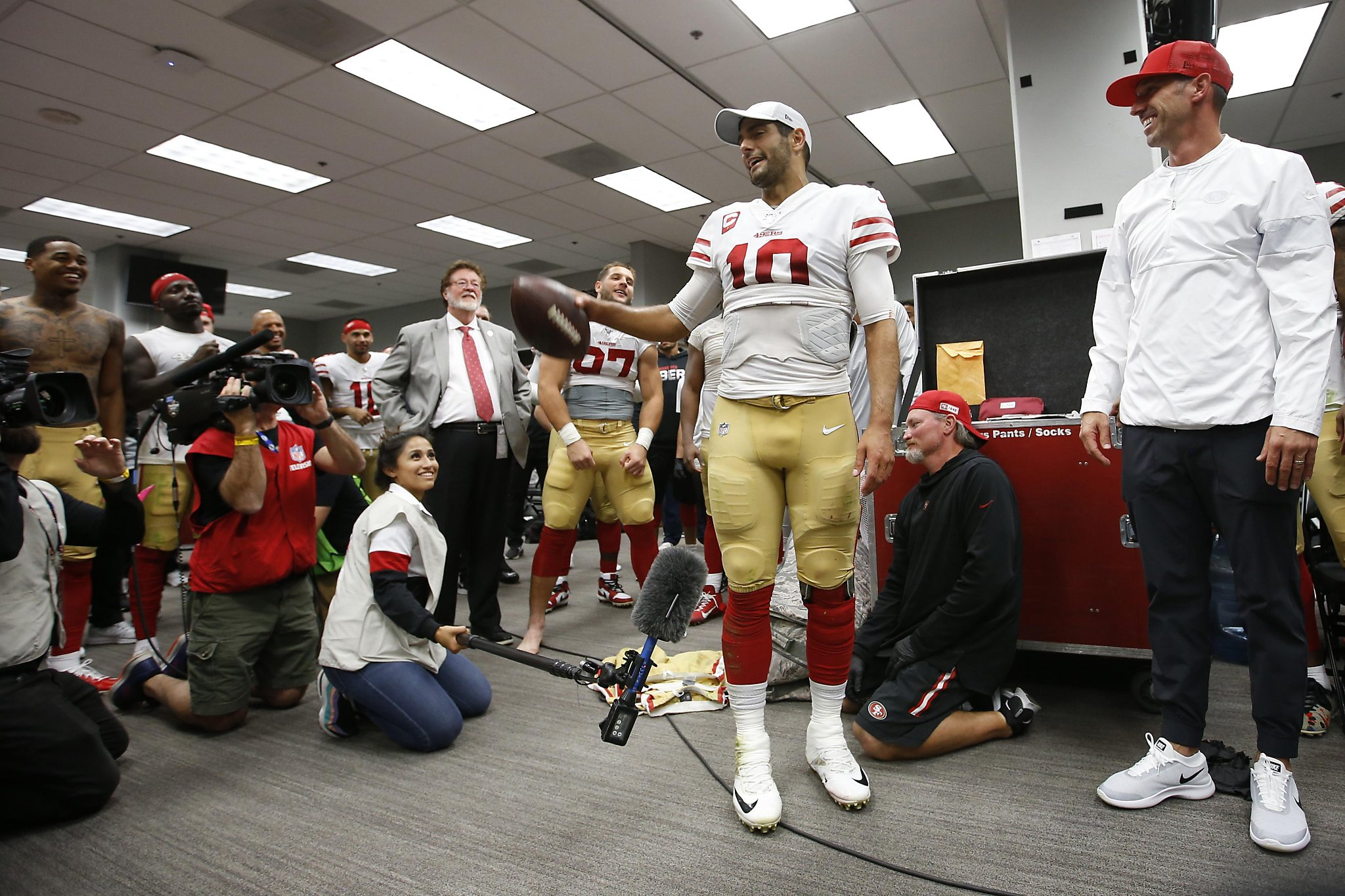 49ers' defining characteristic? They're just so easy to like