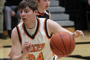 The Harbor Beach Pirates took down Sandusky in a close 49-42 contest on Wednesday, Jan. 15.