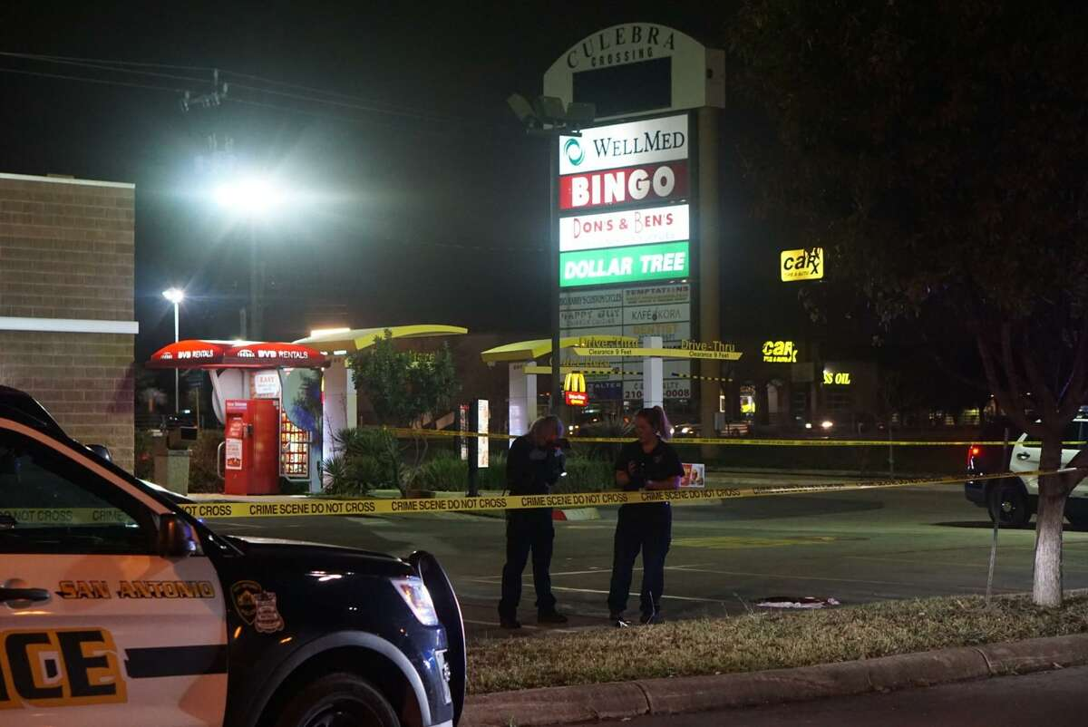 A man fatally shot Wednesday night as he was standing in the parking lot of a Northwest Side fast food restaurant was identified. Kyle Gregory Warren, 30, died from a gunshot wound to the chest, the Bexar County Medical Examiner's Office said.
