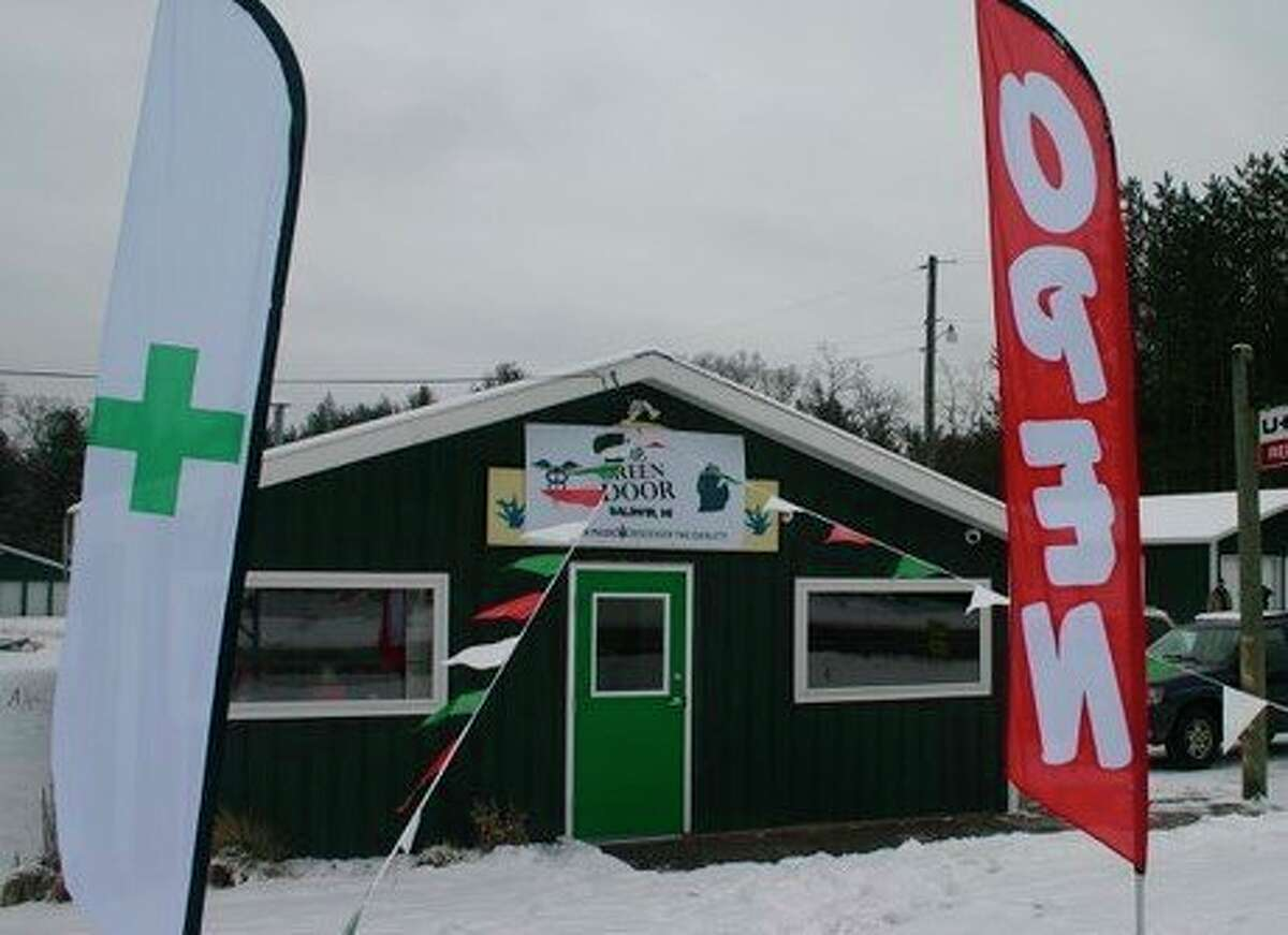 The Green Door, a medical marijuana provisioning center in Baldwin, hosted a grand opening Monday, Jan. 13. The store is open 11 a.m. to 7 p.m. Monday through Saturday. (Star photo/Cathie Crew)