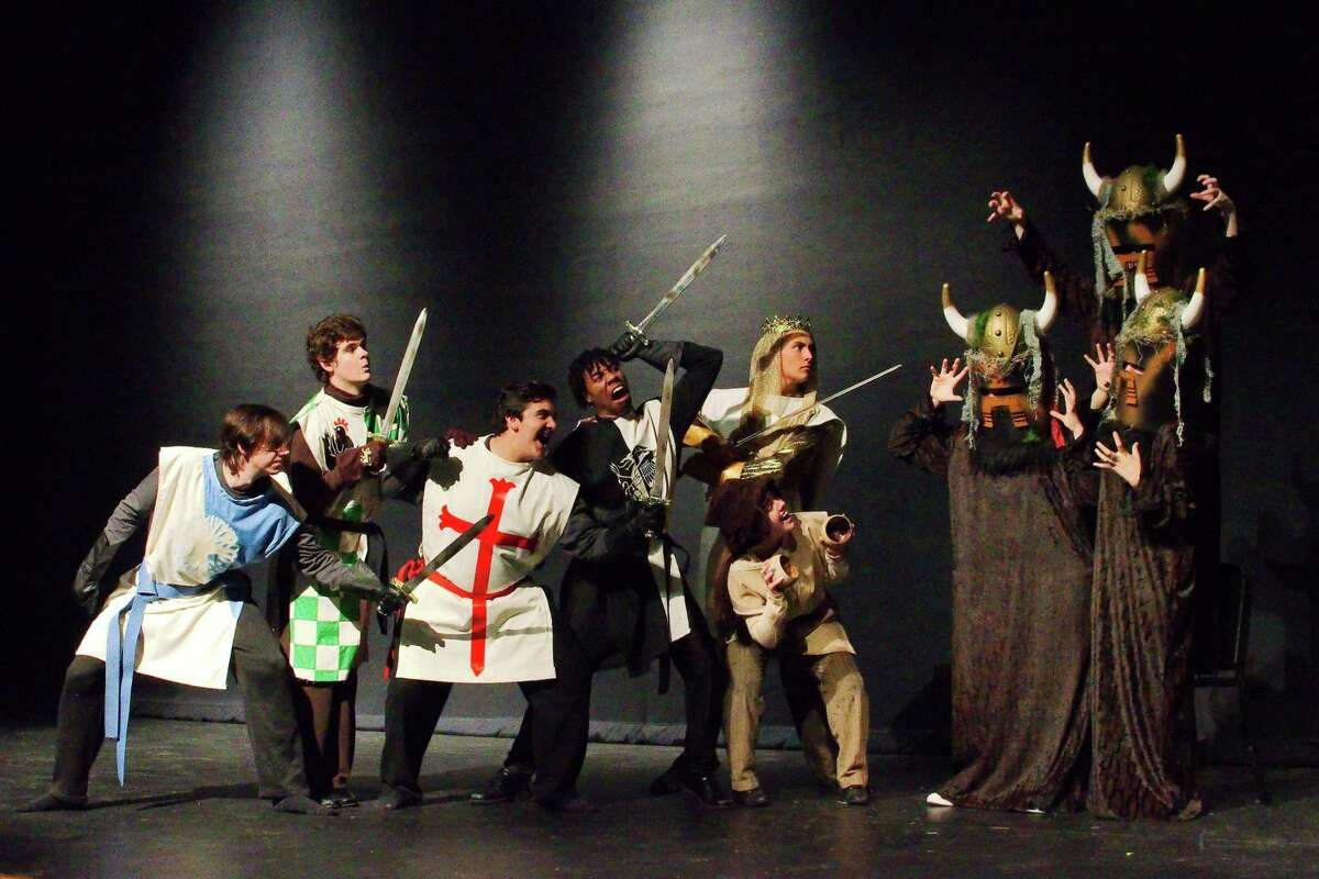 Don't expect a serious reflection on medieval life in Clear Springs High's production of
