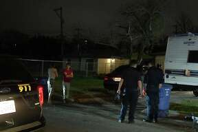 One woman was arrested after allegedly threatening a man with a machete before engaging in a standoff with police near the 200 block of Lakeshore Drive, San Antonio police said.