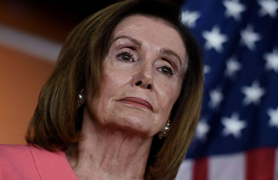 Speaker of the House Nancy Pelosi (D-CA) speaks at a press conference to announce the impeachment managers on Capitol Hill January 15, 2020, in Washington, DC. Photo: OLIVIER DOULIERY / AFP Via Getty Images