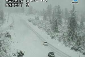 Chains are required to travel on I-5 near Mt. Shasta on Thursday, Jan 16, 2020.