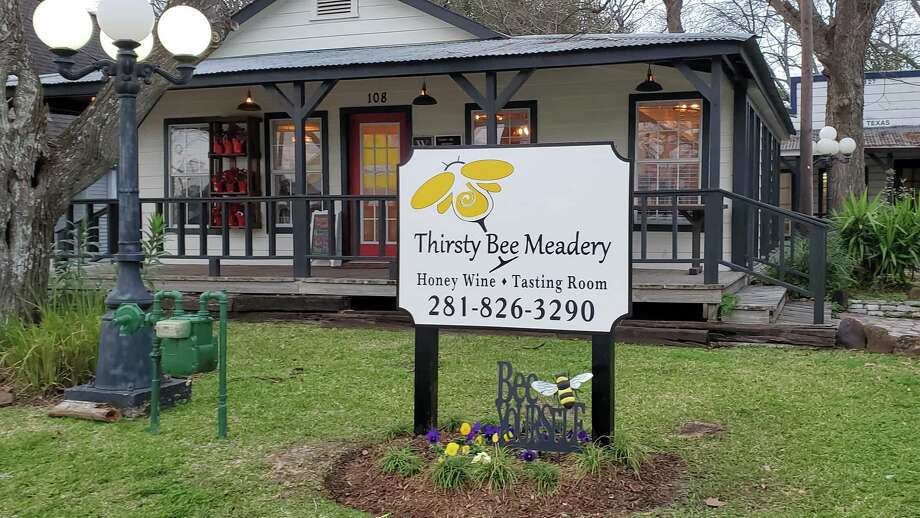 The Thirsty Bee Meadery recently opened in the heart of Old Town Tomball. The meadery is one of the first-of-its-kind in the Greater Houston area and the 13th meadery in Texas. Photo: Courtesy Kelly And Matthew Brantley