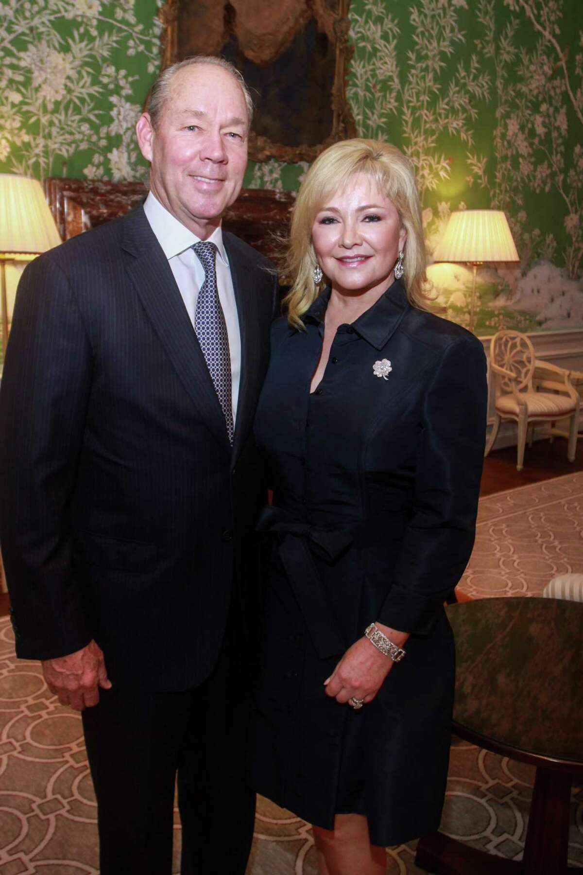 Honorees Jim and Whitney Crane at the Jubilee of Caring gala at River Oaks Country Club on January 15, 2020.