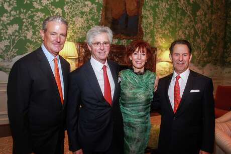 EMBARGOED FOR REPORTER UNTIL JAN. 20 Chairs Al Walker, from left, Tom Wessel,  Marcy Taub and Kitch Taub at the Jubilee of Caring gala at River Oaks Country Club on January 15, 2020.