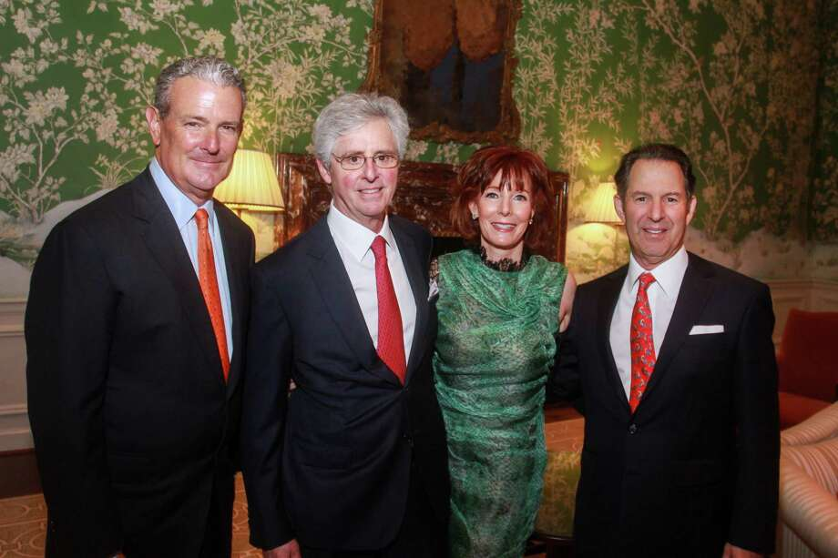 Chairs Al Walker, from left, Tom Wessel, Marcy Taub and Kitch Taub at the Jubilee of Caring gala at River Oaks Country Club on January 15, 2020. Photo: Gary Fountain, Contributor / Copyright 2020 Gary Fountain