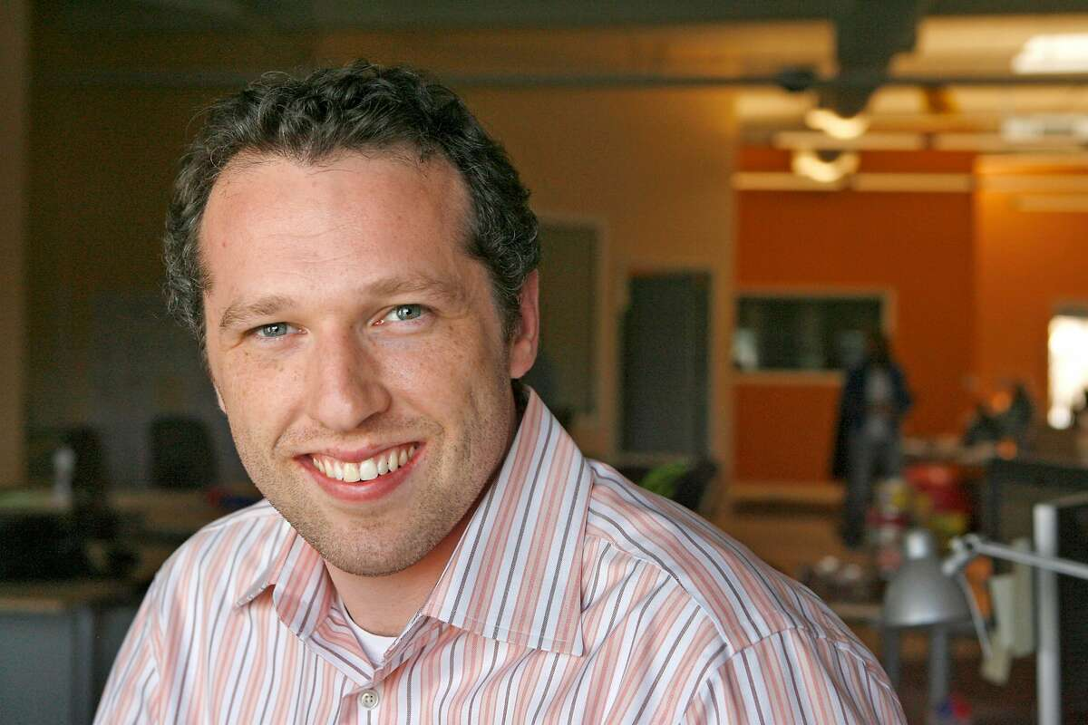 h1bo1_045_df.jpg Seth Sternberg (cq) is the CEO of Meebo, a start-up company in Mountain View. Photographed in Mountain View on 3/29/07. Deanne Fitzmaurice / The Chronicle Seth Sternberg
