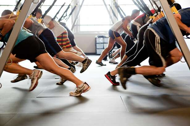 Trying to get to the gym in the New Year? You're not alone. Columnist Caille Millner wonders why every gym looks like this during in January....only to clear out just a few weeks later.
