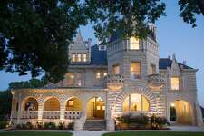 Lambermont Castle: San Antonio Want to feel like royalty? No better way to do that than to stay in a castle! This house was built in 1894 to mimic the castles of Belgium. This listing comes with a private balcony, library, music room, parlor and wrap around porch. 1 bed, 1 bath $130 per night Airbnb.com