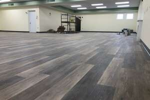 Renovations to the Plumb Memorial Library children's department continue at a rapid pace. The new flooring and lighting, along with a fresh coat of paint, have brought new life to the area.