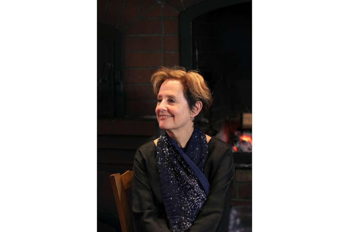 Alice Waters, the founder of Chez Panisse in Berkeley. Alice Waters