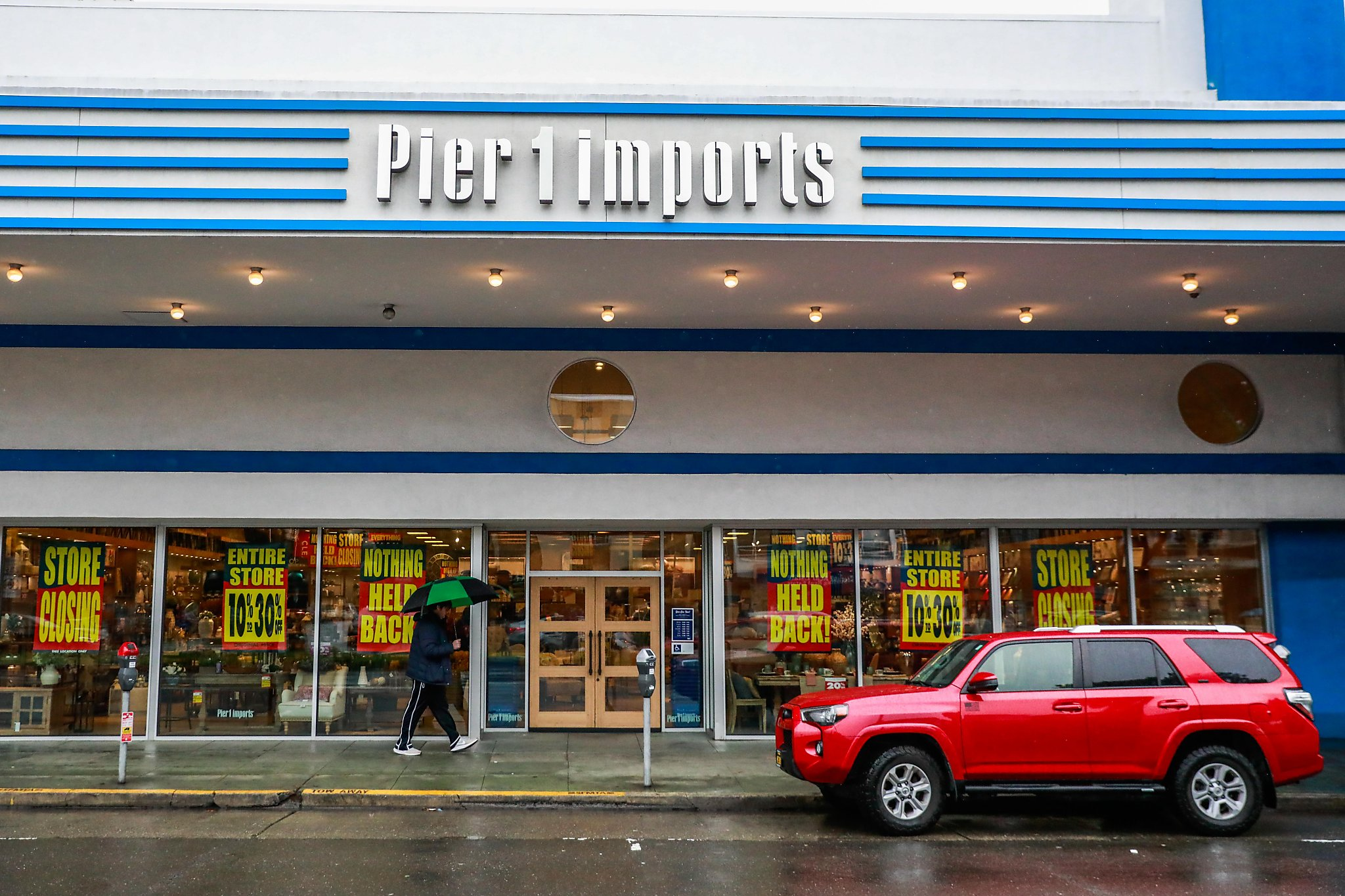 Pier 1 files for bankruptcy protection, will pursue a sale