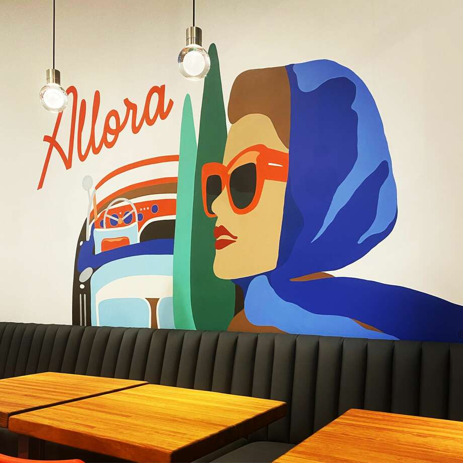 A mural located inside of Allora Photo: Contributed