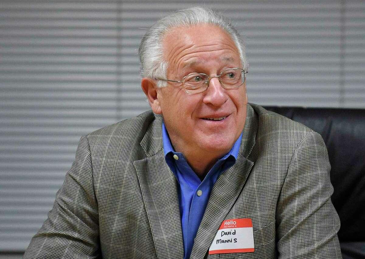 Board of Finance member David Mannis