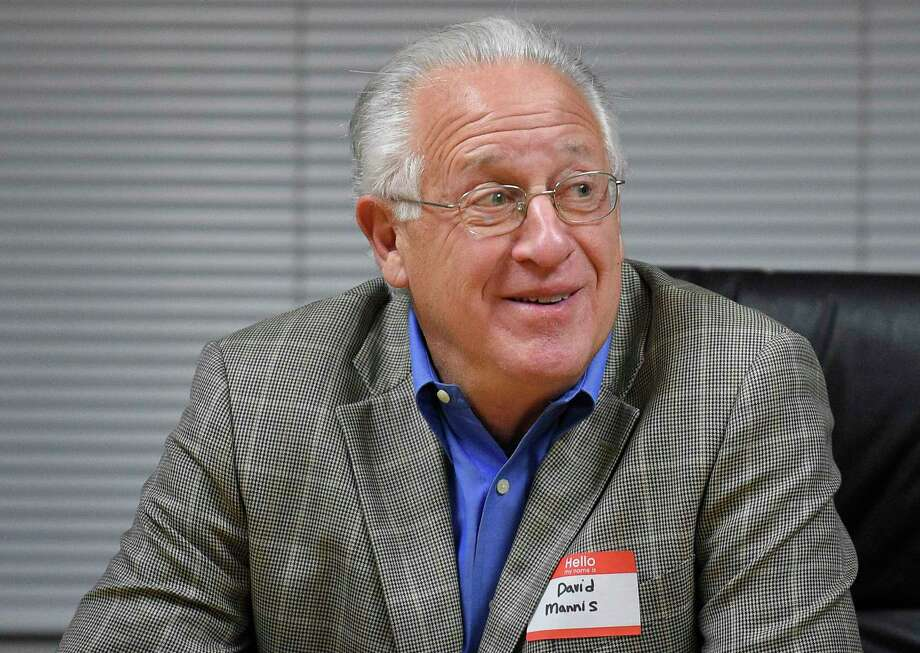 Board of Finance member David Mannis Photo: Matthew Brown / Hearst Connecticut Media / Stamford Advocate