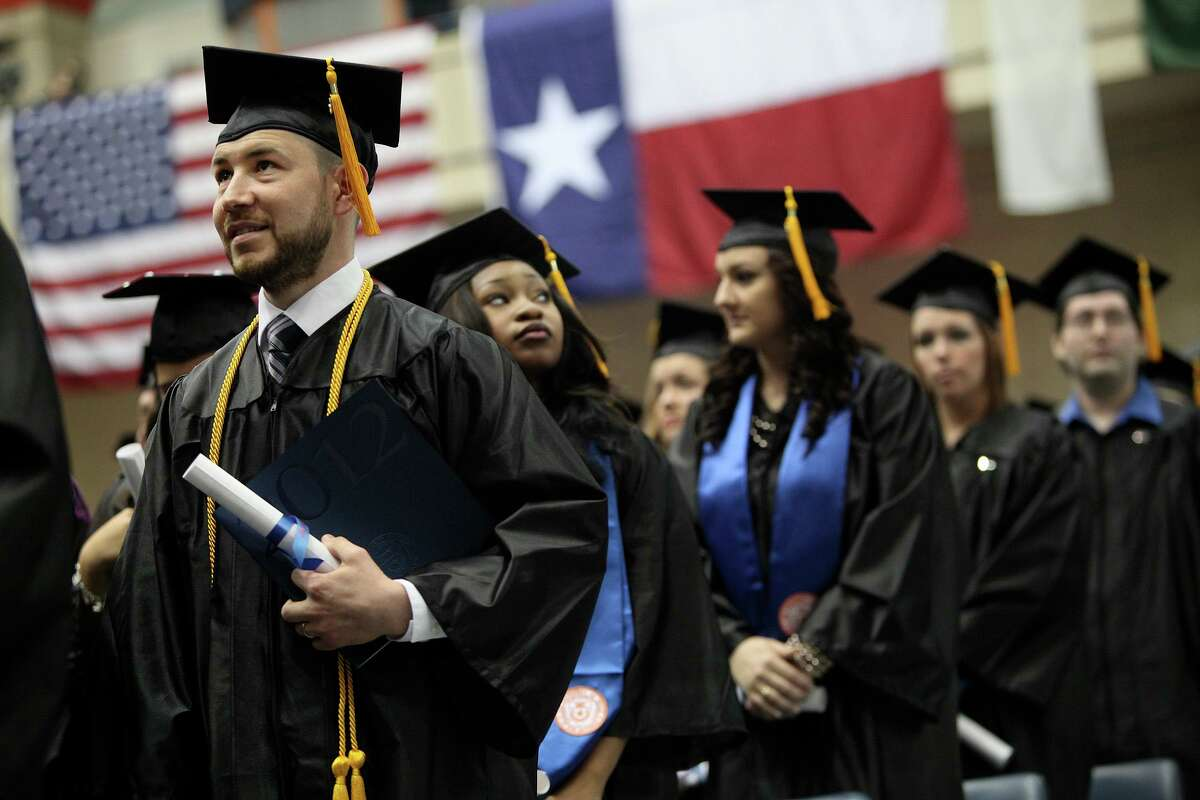 Many college graduates won't be walking the stage this year - as these UTSA grads did in 2012 - and they will be entering a bruising economy. But great challenges also bring great opportunities. This year's college graduates can help us rise together.