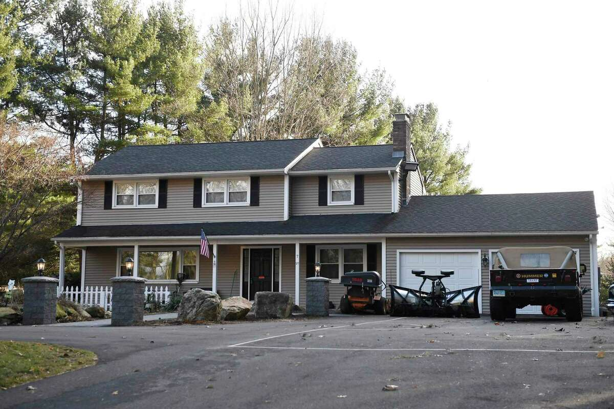 The home of Robert F. Hyde in Simsbury was visited by F.B.I. agents who released no other details. Hyde's exchange of texts with Lev Parnas, an associate of Trump's personal lawyer Rudy Giuiliani, indicate Hyde was aware of the President Trump's dissatisfaction with the U.S. ambassador to Ukraine weeks before the president fired her.